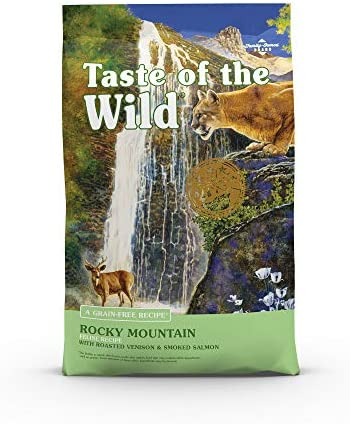 Taste of the Wild Grain Free High Protein Real Meat Recipe Rocky Mountain Premium Dry Cat Food