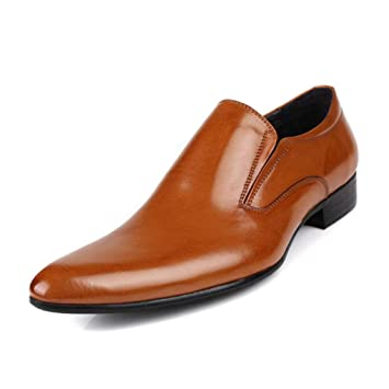 fd6ac19399aec Amazon.com: YaXuan Men's Shoes, Spring Fall Breathable Leather Shoes ...