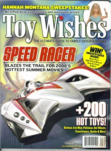 Toy Wishes - The Ultimate Guide to Family Entertainment (Spring 2008)