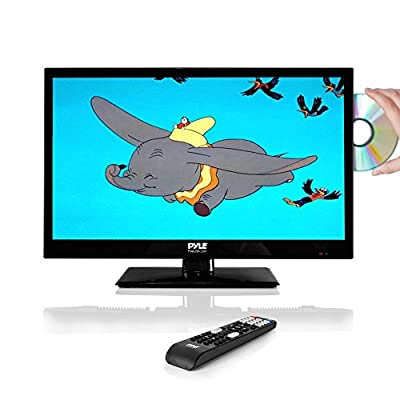 Pyle 18.5'' LED TV - HD Television with Built-in CD/DVD Player, 1080p Support (PTVDLED19) from Sound Around