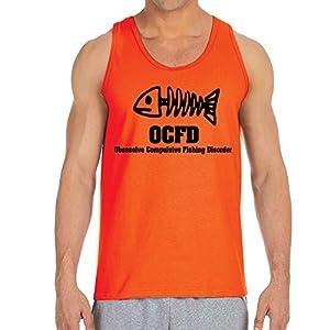 Men's O.C.F.D. Orange Tank Top (Medium)