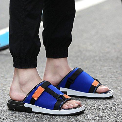Xing Lin Sandalias De Hombre La Juventud De Verano Zapatos De Plástico Adhesivo Colores Mezclados Flip Flops Sandalias Sandalias