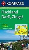 Kompass Karten, Darß, Zingst, Fischland (KOMPASS-Wanderkarten, Band 736)
