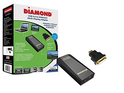 Diamond Multimedia USB 3.0 to DVI / HDMI Video Graphics Adap