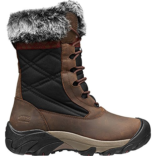Keen Snow Boots (KEEN Women's Hoodoo III Winter Boot, Cascade Brown/Zinfandel, 8 M US)