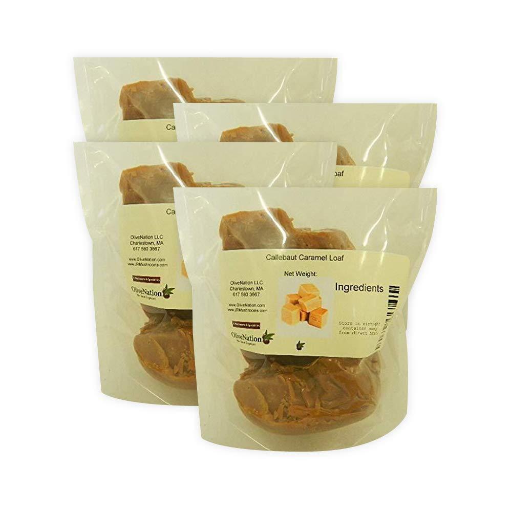 Callebaut Caramel Loaf 5 lbs (4 pack) by Callebaut