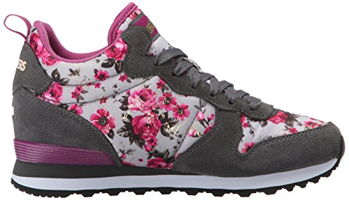 Skechers Originals OG 85 Hollywood Rose Zapatillas de deporte, Mujer, Gris (Gypk), 40