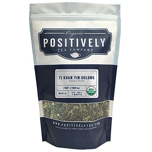 Organic Ti Kuan Yin Oolong Tea, Loose Leaf Tea, Positively Tea LLC. (1 LB.)