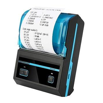 ZYJ 48Mm Impresora Térmica De Recibos Bluetooth, Impresora Máquina ...
