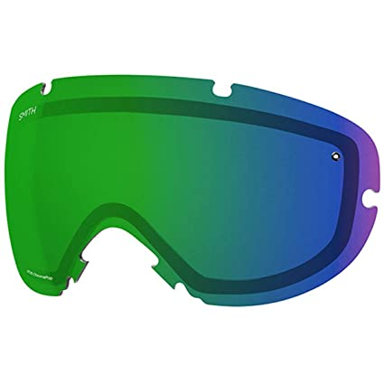 961d1e963a11 Smith Optics iOS Adult Replacement Lense Snow Goggles Accessories -  Chromapop Everyday Green Mirror One
