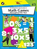 Challenge Your Mind Math Games Throughout the Year, Daryl Vriesenga, 1568227833
