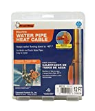 Frost King HC12A Automatic Electric Heat Cable Kit, 12 Feet, Black