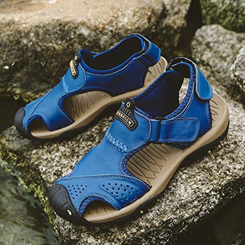 39 EU Blue 5 7238 Seaoeey Uomo Sandali wWqYIwtB1T