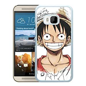 NADIA HTC ONE M9 Covers,One Piece 35 White HTC ONE M9 cell phone case