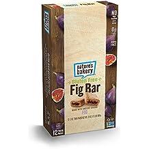 Nature's Bakery Gluten Free + non-GMO + Vegan, Fig Bars, Original Fig (12 Count)