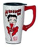 Betty Boop Travel Mug, White