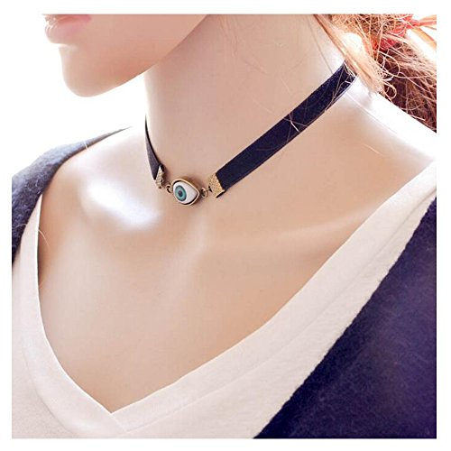 [Luck Wang Woman's Unique and Novel Ideas Simple Paragraph Clavicle Necklace(1#)] (Pop Art Inspired Costumes)