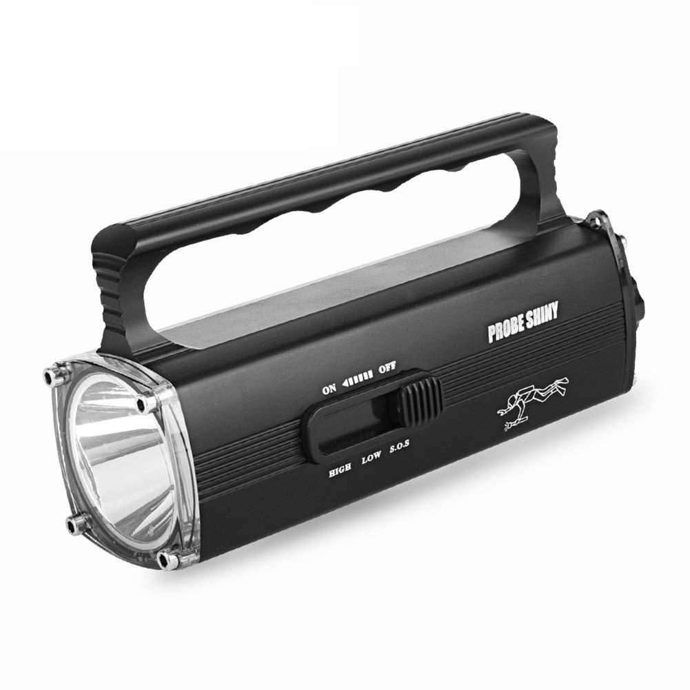 J. Horizon Leistungsstarke Tauch LED Taschenlampe Super Helle Wasserdichte LED Handlampe Wiederaufladbare Tauchlampe Für Campingfischen Im Freien