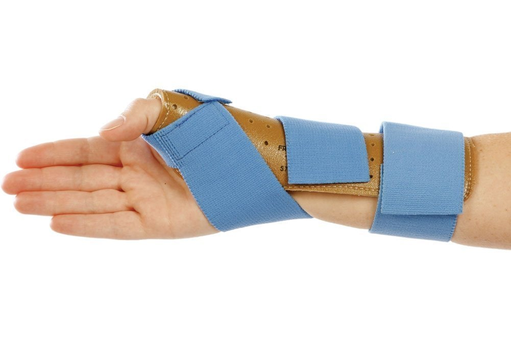 AliMed Freedom Thumb Spica Splints, Medium/Large, Right
