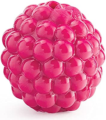 Planet Dog Orbee Tuff Raspberry Dog Toy for Small Breeds