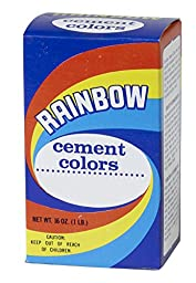 Mutual Industries 9014-1-0 Rainbow Cement Color,  1 lb., Cement Blue