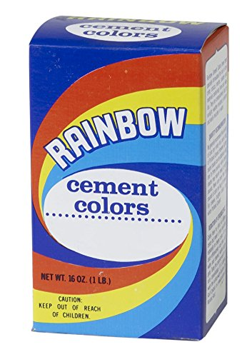 Colored Cement - Mutual Industries 9006-0-1 Rainbow Cement Color,  1 lb., LP Yellow