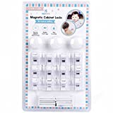 Magnetic Child Safety Cabinet Locks - 12 Lock + 3