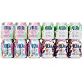 POLAR 100% Natural Seltzer Jr - 24 ct Variety Pack - The Impossibly Good Collection (Unicorn Kisses, Yeti Mischief, Mermaid Songs, Dragon Whispers)