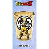 1.5oz OFFICIAL Dragon Ball Z PREMIUM Super Saiyan Goku Shot Glass GIFT with Goku Kanji