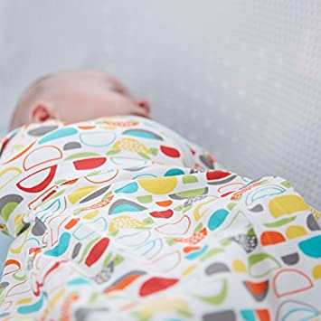 Cosy The Gro Company Confetti Grosnug 2-in-1 Swaddle and Newborn Grobag 0-3 Months