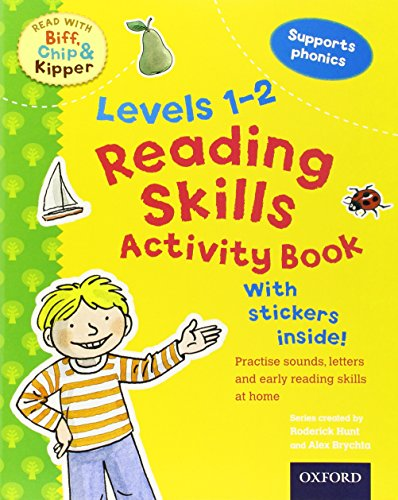 R.e.a.d Reading Skills Activity Book, Levels 1-2 (Read with Biff, Chip, and Kipper) [W.O.R.D]
