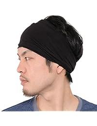 Casualbox | Mens Womens Elastic Bandana Headband Japanese Long Hair Dreads Head Wrap