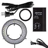 AmScope 78 LED Light Microscope LED Ring Light with