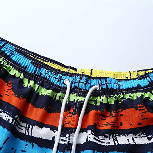 Pantalones Franja Color Playa destacado de Color Pantalones de de STAZSX Rayas Sueltos Rayas Apparel a Color de Casuales Pantalones qBUtnxwza