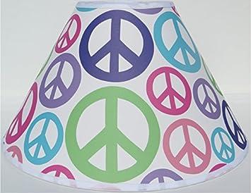 Amazon peace sign lamp shades peace signs childrens room peace sign lamp shades peace signs childrens room decor aloadofball Gallery