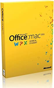 Microsoft Office 2011 Home & Student Edition - Office Suite - Complete Product - Retail - Mac