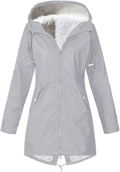 coupe vent hiver femme grande taille impermeable