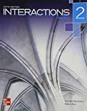 Interactions Level 2 Reading Student Book Plus Registration Code for Connect ESL 6th Edition