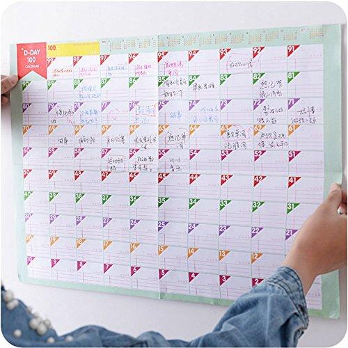 weight loss goal calendar