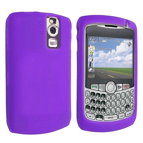 Silicone Skin Case for BlackBerry Curve 8300/8310 / 8320/8330 - Dark Purple