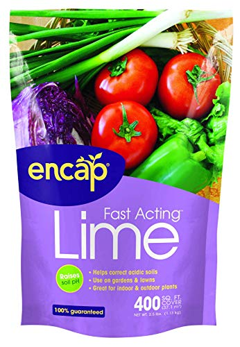 Encap 10612-6 Fast Acting Lime Pouch, 2.5 Pounds, 400-Square Feet -