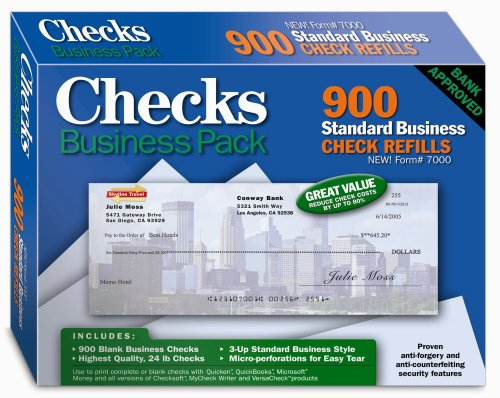 Checks - Business Pack (Green Print Software)