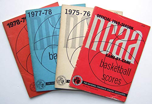 The Official National Collegiate Athletic Association (NCAA) Basketball Scores, 1969, 1975-1976, 1977-1978, 1978-1979 ()