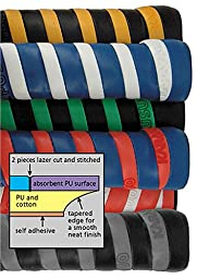 Karakal PU Super Grip Duo Twin Blister Pack Replacement Grip,Colors may vary
