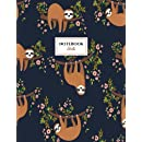 Sloth Notebook: Sloths Notebook (Composition Book Journal) (8.5 x 11 Large)