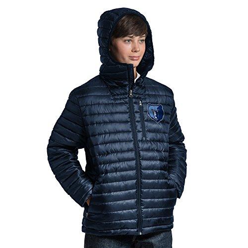NBA Equator Steppjacke, jugendliche Jungen , Equator Quilted Jacket, navy, Medium