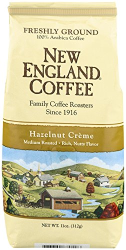 New England Coffee Hazelnut Creme, 11 Ounce Creme Cocoa Drinks
