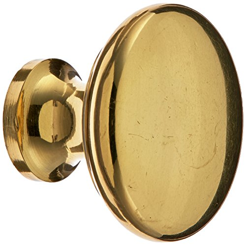 Brass Contemporary Round Knobs Cabinet - 8