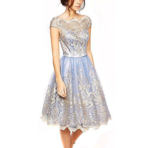 Knee Length Formal Dresses - 4
