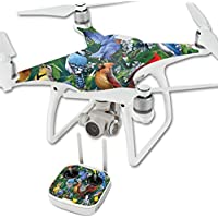 Skin For DJI Phantom 4 Quadcopter Drone – Backyard Gathering | MightySkins Protective, Durable, and Unique Vinyl Decal wrap cover | Easy To Apply, Remove, and Change Styles | Made in the USA